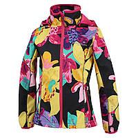 Куртка Softshell для девочек JANET HUPPA, JANET 18000000-81418, 7 лет (122 см), 7 лет (122 см)