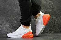 Кросівки чоловічі сітка Nike Air Max 270 літні білі Найк Аір Макс 270