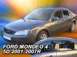 Дефлекторы окон (ветровики)  Ford Mondeo 2001->07 Sed/Liftback 4шт (Heko)