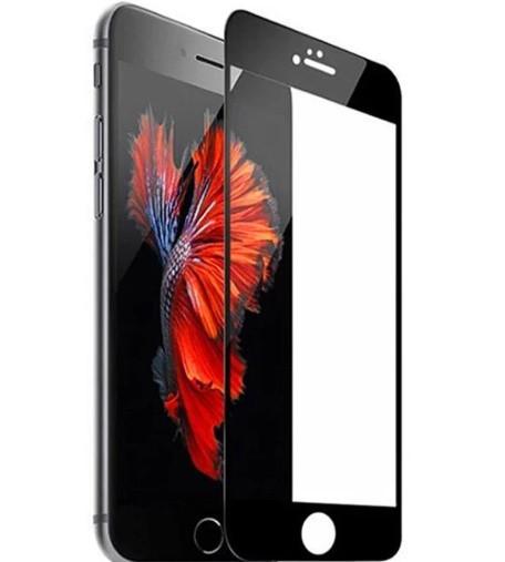 Закалене скло для Iphone 7 Повне покриття 100% Чорне і Біле