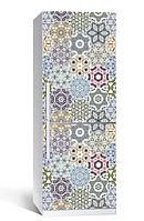 Виниловая наклейка на холодильник ReD Геометрический орнамент, 65х200 см