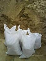 В мешках заказать — песок, цемент, щебень, гран-сев, керамзит, известь.