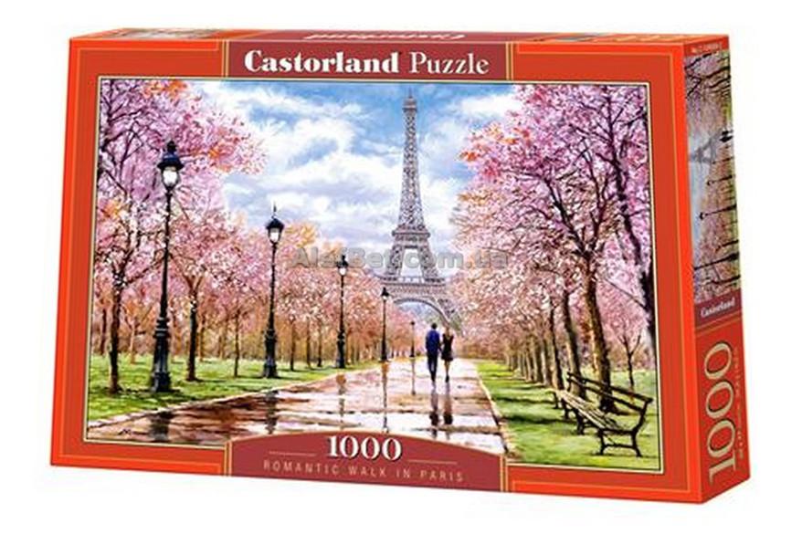Пазлы для творчества Романтическая прогулка Парижа / 1000 элементов / Castorland (Касторленд)