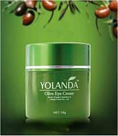 Оливковый крем для кожи вокруг глаз, «Green World»