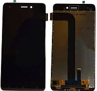 Дисплей модуль для Nomi i5011 EVO M1 в зборі з тачскріном, чорний