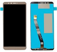 Дисплей модуль для Huawei Y9 2018 в зборі з тачскріном, золотистий