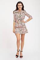 Платье женское 112R485D цвет Персиковый