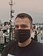 Набор защитных масок со складками черного цвета (упаковка  5 шт.), фото 4