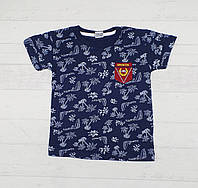 Детская футболка для мальчиков 3-6 лет