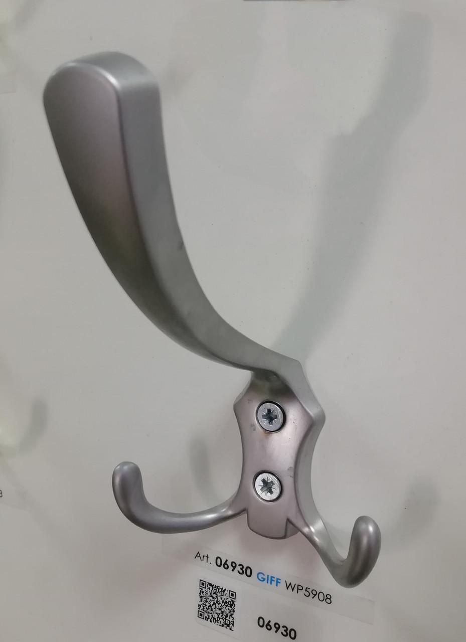 Гачок (крючок) меблевий GIFF WP59 Матовий хром