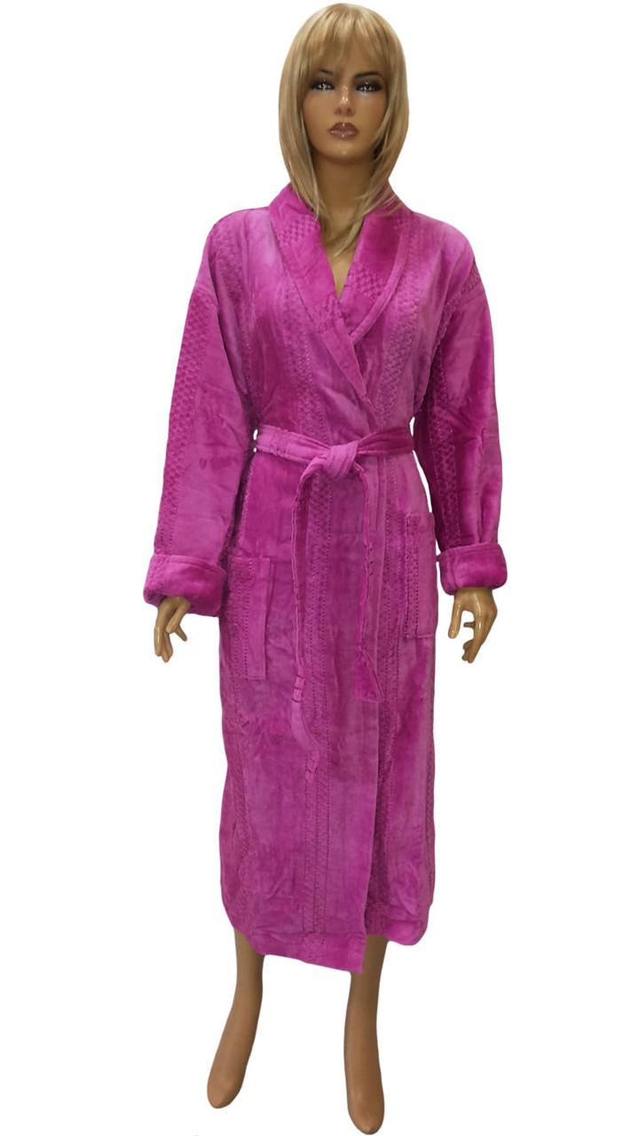 Халат банный махровый (большие размеры)  May Yener