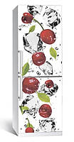 Виниловая наклейка на холодильник ReD Черешня. 65х200 см