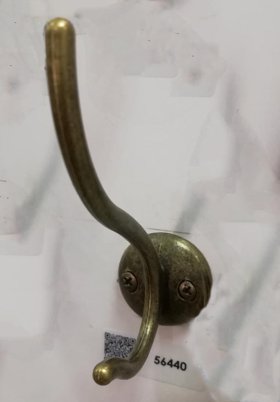 Гачок (гачок) меблевий GIFF WP49 Антична бронза