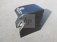 Подлоктник черный, кож-зам. Skoda octavia II A5 (шкода октавия а5) 2004+