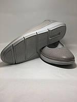 Женские туфли -балетки с перфорацией на утолщенной подошве. Натуральная кожа. Размер 39,40,. Супер комфорт, фото 5