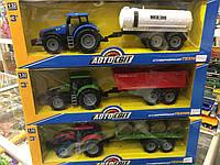 Детский Трактор с прицепом 06400