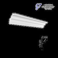 Декоративный карниз GPX-14, подходит для натяжного потолка , длина 2м, Glanzepol