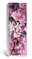 Виниловая наклейка на холодильник ReD Цветение 02, 65х200 см
