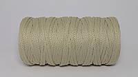 Полиэфирный шнур  4-5мм оттенок Лён
