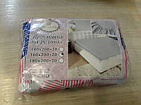 Простынь на резинке 160х200+20 см-135
