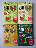 Пастила Яблоко-Слива Равлик Боб без сахара Bob Snail , 120 г, в упаковке 12 конфет в виде спирали, фото 2