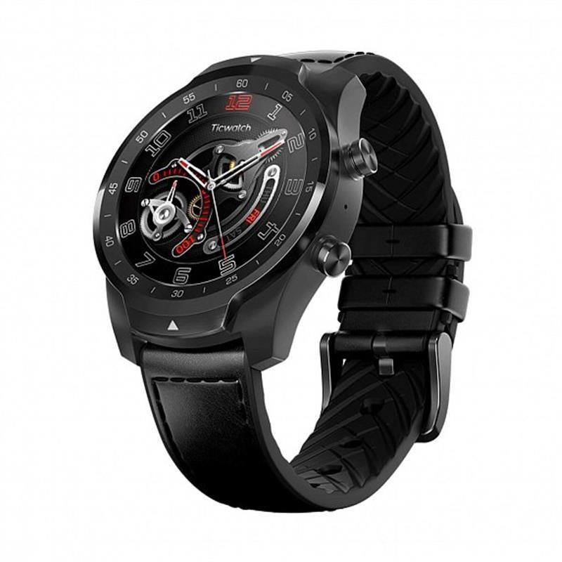 Смарт-часы Mobvoi TicWatch Pro WF12106 Elegant Black (P1031000600A);