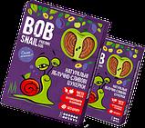 Пастила Яблоко-Слива Равлик Боб без сахара Bob Snail , 120 г, в упаковке 12 конфет в виде спирали, фото 4