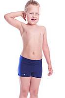 Плавки детские для мальчика Shepa 015, темно-синие с синими вставками 104
