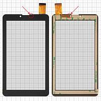 """Сенсорний екран для Bravis NB751 3G; планшетів China, 7"""", 184 мм, 104 мм, 30 pin, тип 1, ємнісний, без сенсора наближення, чорний, #HS1275"""