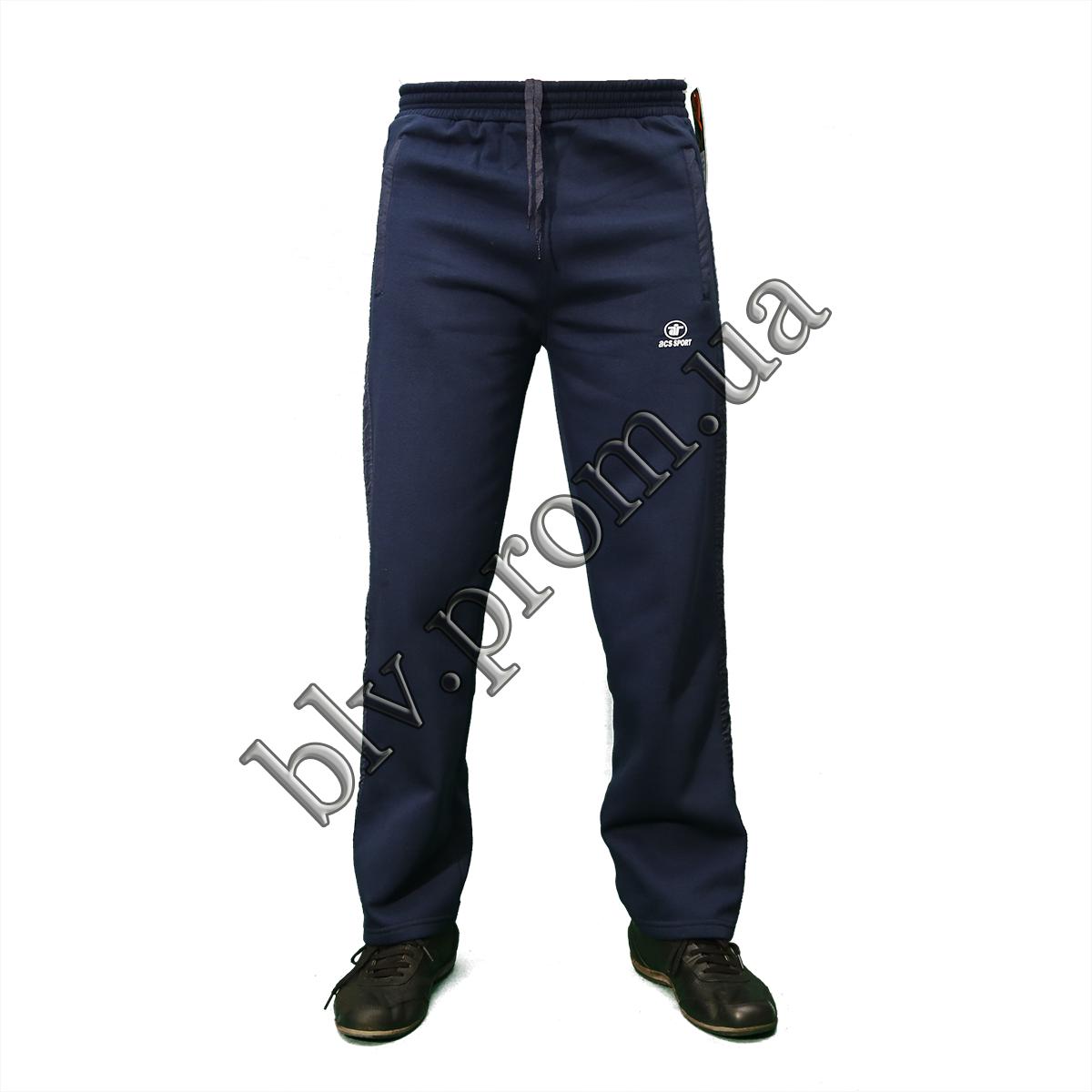 Теплые мужские брюки байка KD684 Indigo