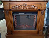 Портал для электрокамина деревянный