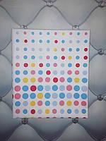 Пелёнки детские тонкие (бязь), разные цвета, 90х110