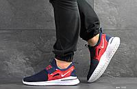 Кроссовки мужские Nike Renew Rival (темно синие, сетка)