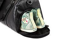 Мужская кожаная сумка. Модель - 2163, фото 10