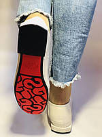 Стильные женские белые туфли-мокасины . Натуральная лакированная  кожа. 37.39.40 Vellena, фото 6