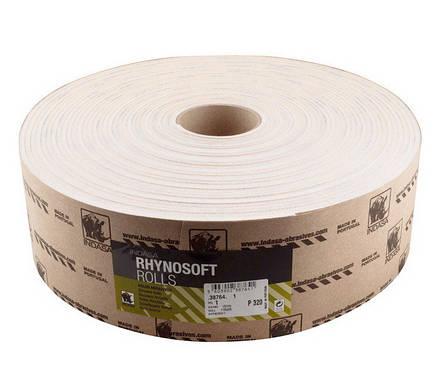 Шлифовальная бумага Индаза на поролоне (Indasa, Португалия) 115 мм х 25 м Р120, фото 2