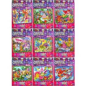 """Набір мозаїка з кристалів """"Kids Crystal Mosaic"""" CRMk-01-01/10"""