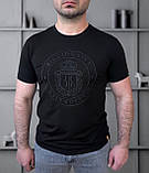 Футболка Чол. 48(р) чорний 210091 Billionaire Туреччина Літо-C, фото 2