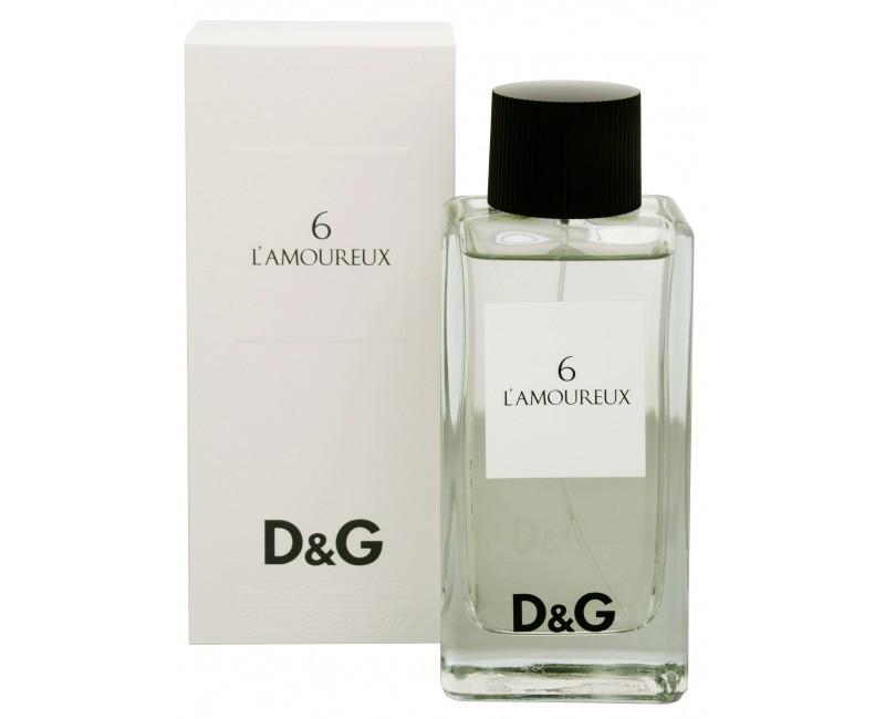 Dolce & Gabbana Anthology 6 L'Amoureaux туалетная вода 100 ml. (Дольче Габбана Антхолоджи 6 Л'Амоурекс)