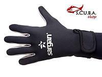 Перчатки для подводного плавания SARGAN Агидель 1,5 мм