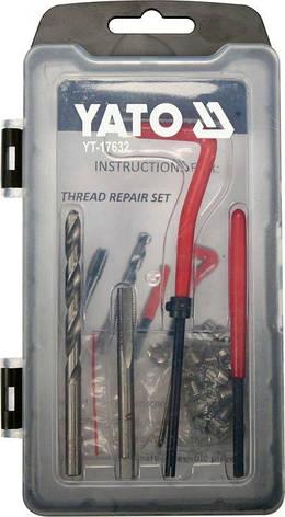 Набір для ремонту різьблення M6x1,0 YATO YT-17632, фото 2
