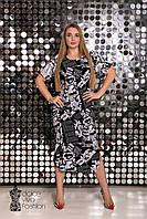 Платье рубашка большие размеры 46-56