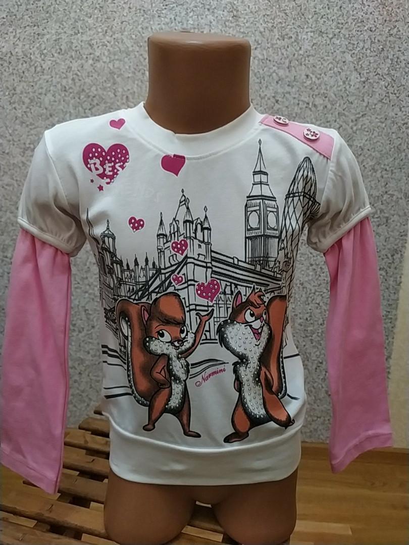 Кофта для девочки 4-8 лет Турция Narmini
