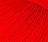 Летняя пряжа (60% хлопок, 40% акрил; 50г/ 165м) Gazzal Baby Cotton 3443 (красный)
