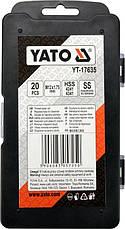Набор для ремонта резьбы M12x1,75 YATO YT-17635, фото 2