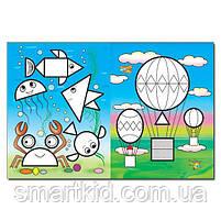 Мозаїка для малюків з наліпками. Зайчик, фото 2