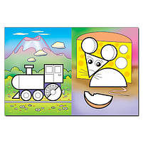 Мозаїка для малюків з наліпками. Зайчик, фото 3
