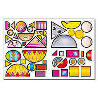 Мозаїка для малюків з наліпками. Зайчик, фото 4