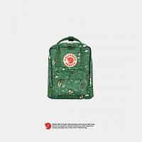 Рюкзак Fjallraven Kanken Mini Art Green Fable 7 л Зеленый Реплика (LN185829J62620)