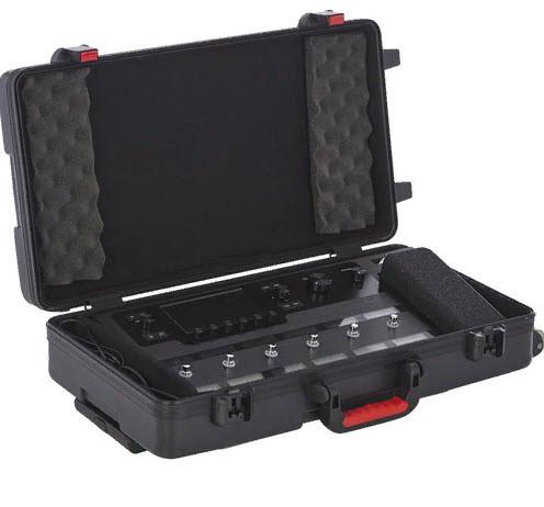 GATOR GHELIXFLOOR Helix Floor Case  Чехол на колесах для напольного процессора Line 6 Helix Пластиковый ABS